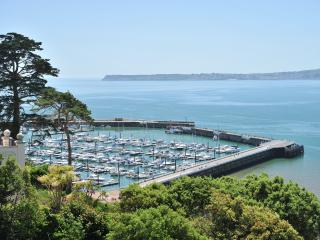 16 Astor House Spectacular sea views and juliette balcony one bed sleeps 2-3, Torquay