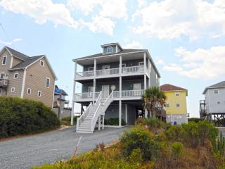 Island Drive 4426 Oceanfront-B Lot! | Hot Tub, Elevator, Jacuzzi, Internet, Fireplace, North Topsail Beach