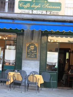 Pontremoli: lo splendido Caffè degli Svizzeri. Autentico esempio di Liberty primi '900