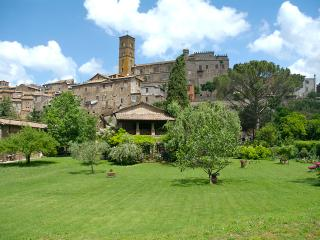 View of the Garden and House with Sutri in the background