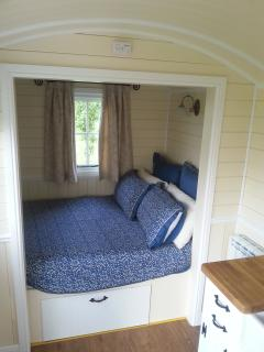 cosy sleeping alcove