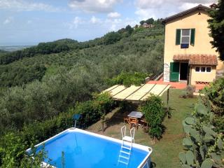 Belvedere, 2 bedrooms with sea view and s.pool, Massarosa