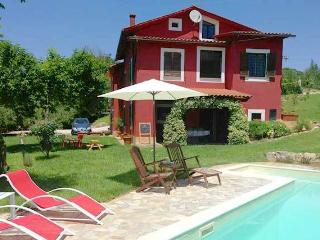 La Casa Rossa southern Umbria villa with pool