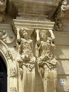 particolare di Palazzo Marrese