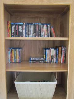 Large selection of Blu Ray DVD's.