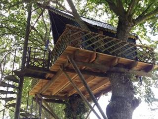 HOLIDAYS TREE HOUSE in Brittany (CABANE PERCHEE ), Yvignac-la-Tour