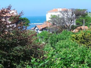 Appartement rénové avec balcon et petite vue mer, St-Jean-de-Luz