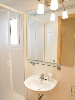 3rd bathroom - with shower, sink, toilet