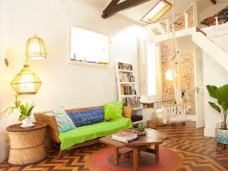 Designers loft in a charming villa