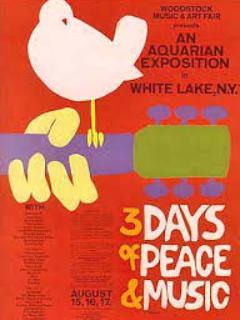 The original Woodstock 1969 poster