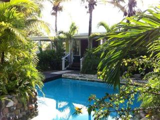 Palm-Frangipani Cottage at Le Jardin Creole