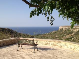 Gozo private villa with pool and sea views - for families, groups or couples