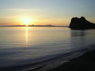 A stroll on the beach at dawn.