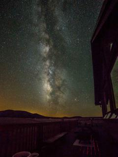 The Milky Way from the front deck - shot taken by visting guest