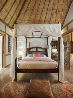 THE BEDROOM next to the master WITH SEA VIEW; perfect for family with kids; as they are joined