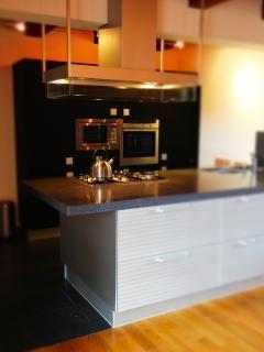 cuisine moderne et entièrement équipée