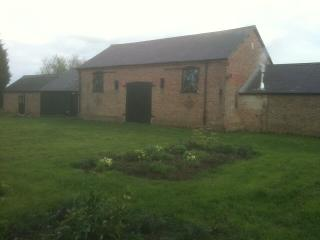 The Garden at the rear of the barn