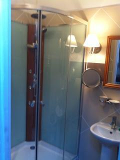Navarra ensuite shower room.