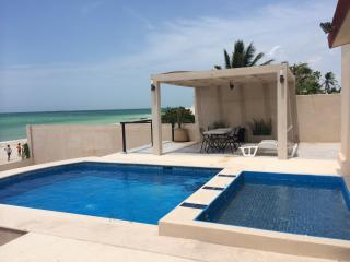 Wonderful Beach House at Chelem, Mexico, Chicxulub