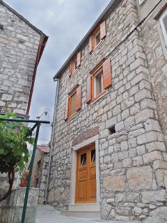Dalmatian stone house, recently renovated