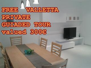 Modern,80m2,balcony with open views,well connected, Msida