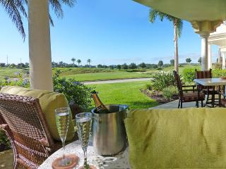 LATE DEALS! AWARD WINNER- Reunion's finest luxury golf front condo.Sunny terrace