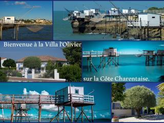 VILLA L'OLIVIER - Appartement de charme, Vaux-sur-Mer