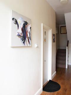 Hallway to Building