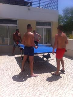 Table Tennis on site