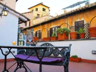 Terraced in Trastevere, Rom