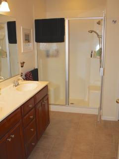 Master Spa Shower w/ dual sinks