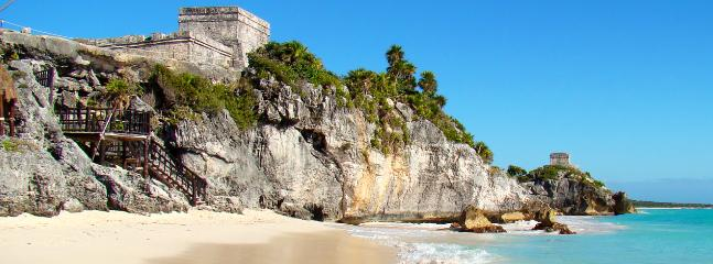 Tulum Mayan Ruins (15 minutes away from Tao)