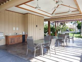 C23 Waikoloa Beach Villas.  BBQ Grill on the lanai