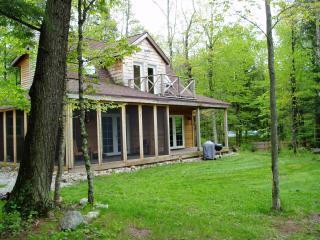 Wild Iris / luxury North woods river cottage, Athelstane