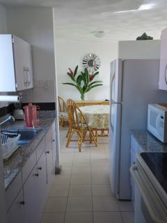 Kitchen - Fully Equipped (fridge, stove, oven, microwave, coffee maker, blender)