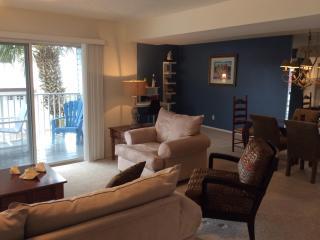 Living room and study