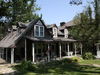 Springhaven Inn a vintage inn built in 1889, located on Main St Blowing Rock