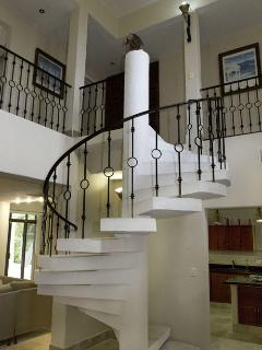 Stairway to 2nd Level Villa Coronado
