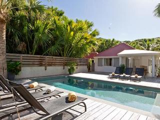 Private beachfront villa with separate bungalows WV CHL, Saint-Barthélemy