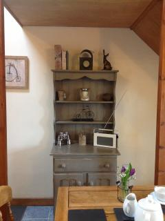 Beautiful traditional Welsh dresser in The Nook