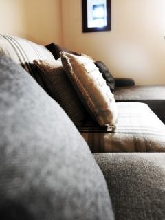 Comfy sofa in the snug room
