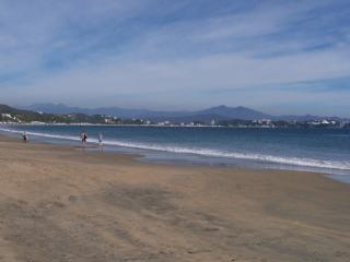 Miles of golden beaches on Santiago Bay close by.