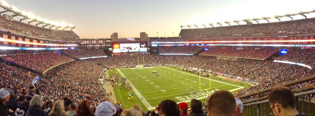 Enjoy a Patriots game at Foxboro Gillette Stadium about a 35 minute drive
