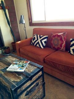 really comfortable sofa turns into queen sleeper