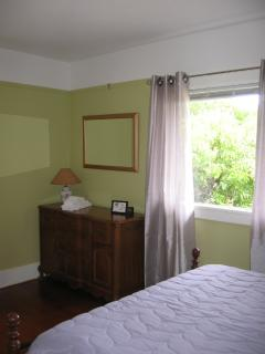 Dresser in the queen bedroom.  Both bedrooms have large closets.