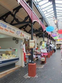 Cheadle's indoor Victorian market