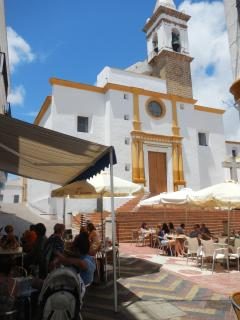 Ayamonte Church just off the square