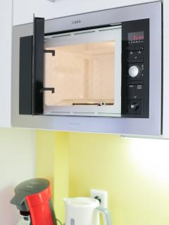 Microwave available.
