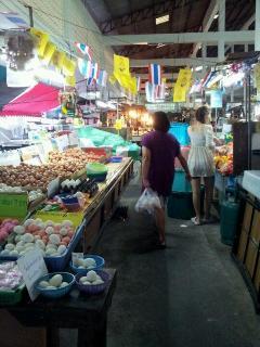 Mahasin Market, Open Air Market at daytime