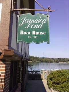 Walk, Run, or Boat on Jamaica Pond